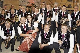 Mit dem Musikverein Albtal und den Bötzberg-Musikanten in Albtal-Immeneich
