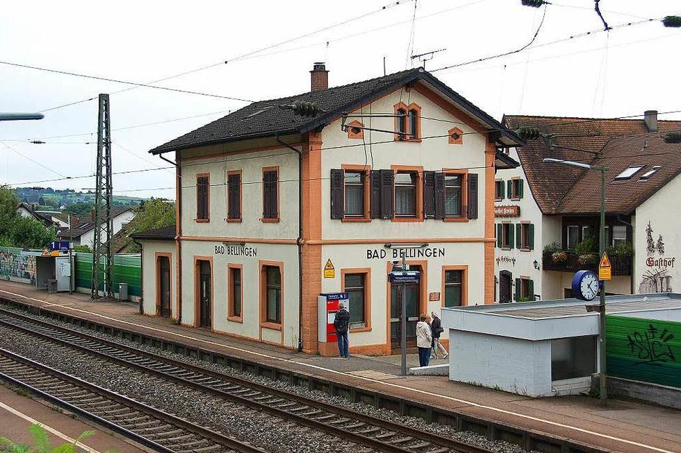 Bahnhof - Bad Bellingen