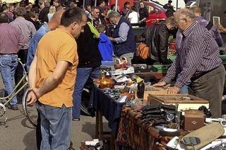 Teilemarkt des MSRT in Freiamt