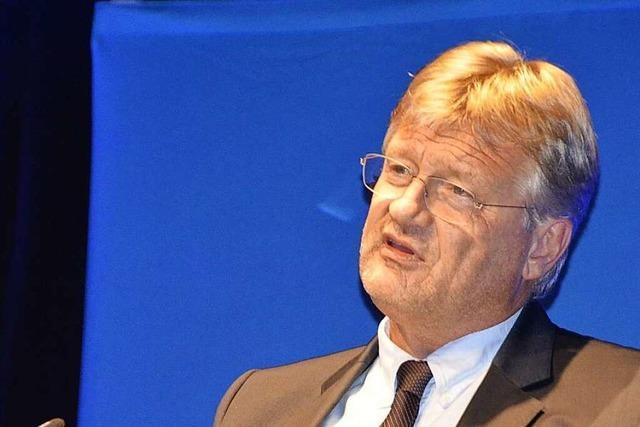 Meuthen mischt sich in Offenburger OB-Wahlkampf ein und gibt den Scharfmacher