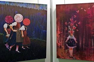 Kunst und Speck am Sonntag auf der Oberrheinmesse in Offenburg