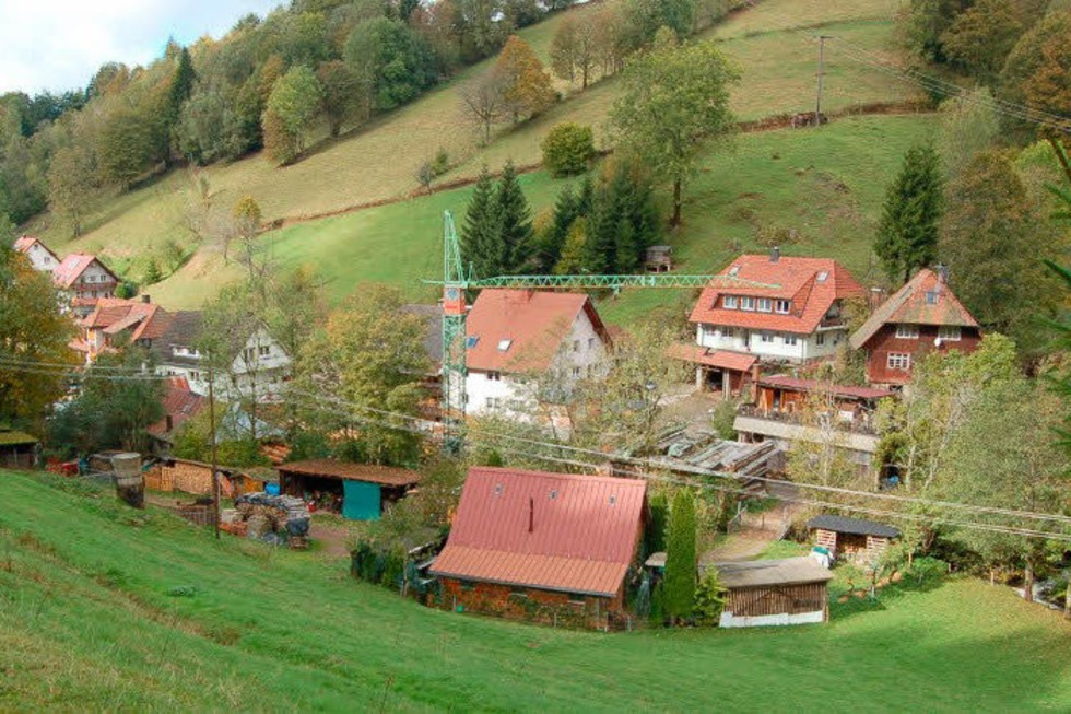 Ortsteil Sägendobel - Sankt Peter