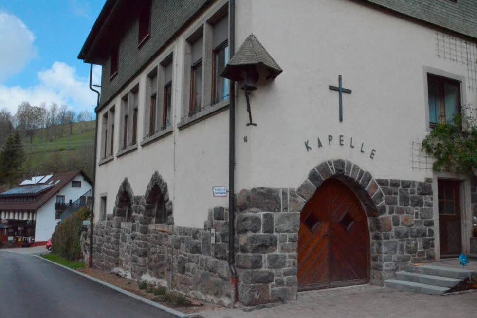 Sägendobelkapelle - Sankt Peter