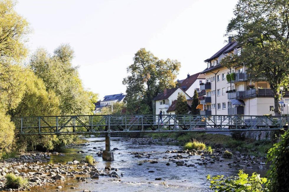 Jünglingssteg über die Elz - Waldkirch
