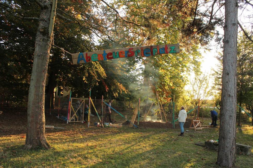 Abenteuerspielplatz im Hebelpark - Lahr