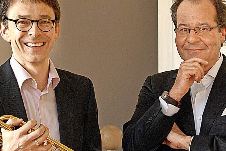 Johannes Sondermann (Trompete) und Johannes Götz (Orgel) spielen in Bad Bellingen - Badische Zeitung TICKET