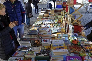 Schallplatten- und Büchermarkt in Emmendingen