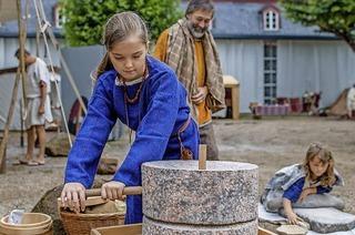 Archäologie zum Anfassen: Aktionstag mit Reenactment im Colombipark und Archäologischen Museum Colombischlössle