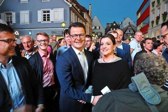 Marco Steffens wird Oberbürgermeister von Offenburg