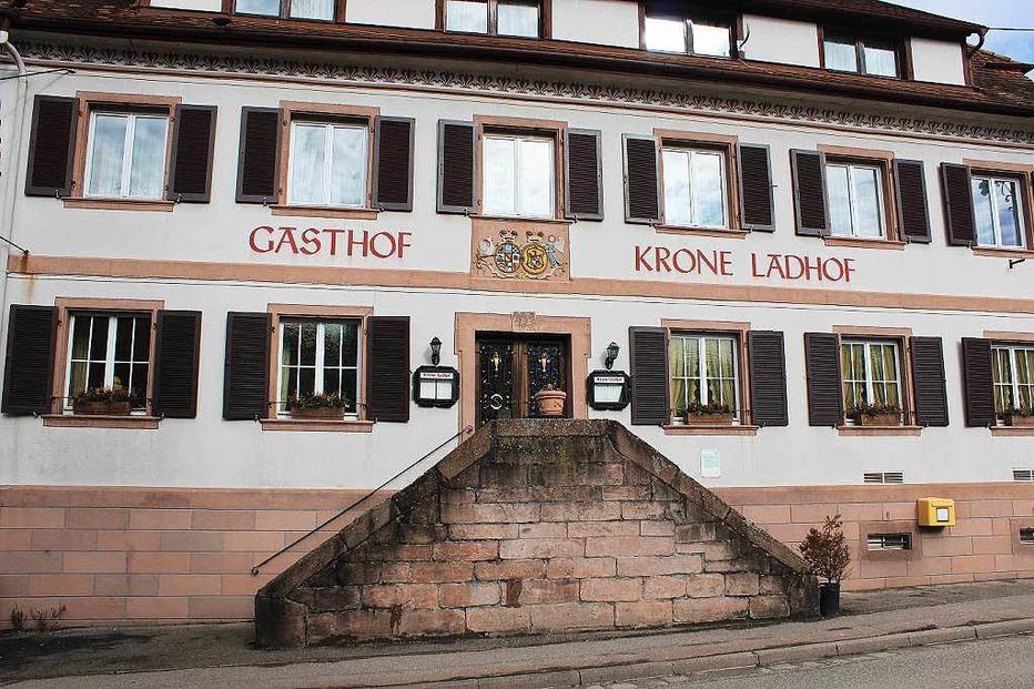 Gasthaus Krone-Ladhof (geschlossen) - Elzach