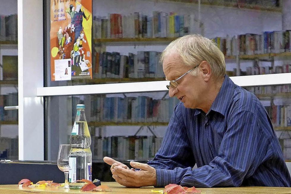 Literarischer Abend mit Dr. Stefan Winter in Müllheim - Badische Zeitung TICKET