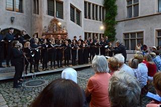 Innenhof Basler Hof