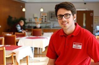 Warum Lukas Bruch aus Oberschopfheim Altenpfleger werden will