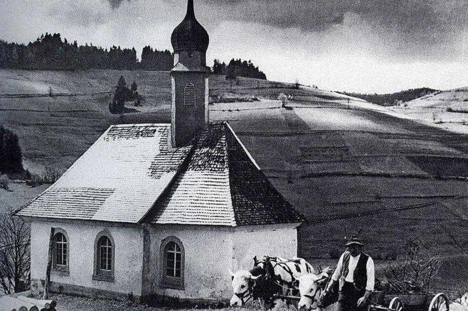 Josefskapelle (Strick) - Todtmoos