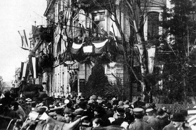 November 1918: Freiburg in den Tagen der Revolution