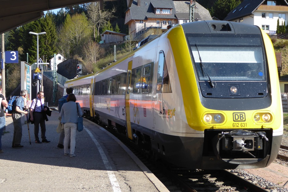 Bahnhof Neustadt - Titisee-Neustadt