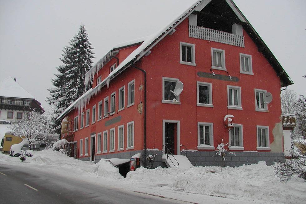 Gasthaus Frieden Bergalingen (geschlossen) - Rickenbach