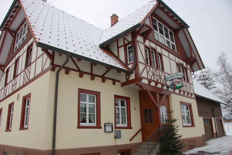 Gasthaus Frieden Münchingen (geschlossen) - Wutach