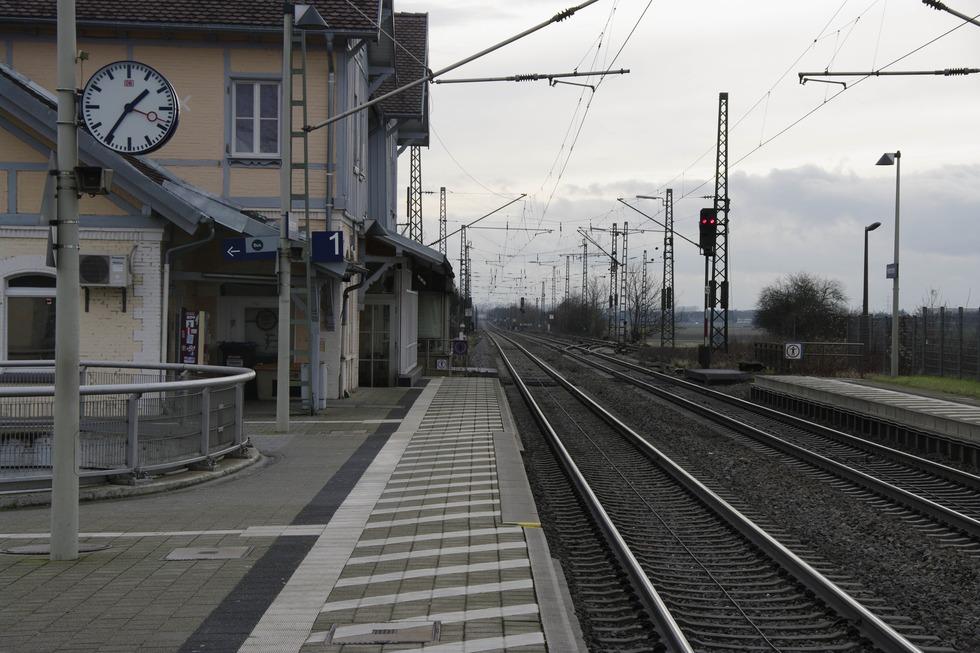 Bahnhof - Heitersheim
