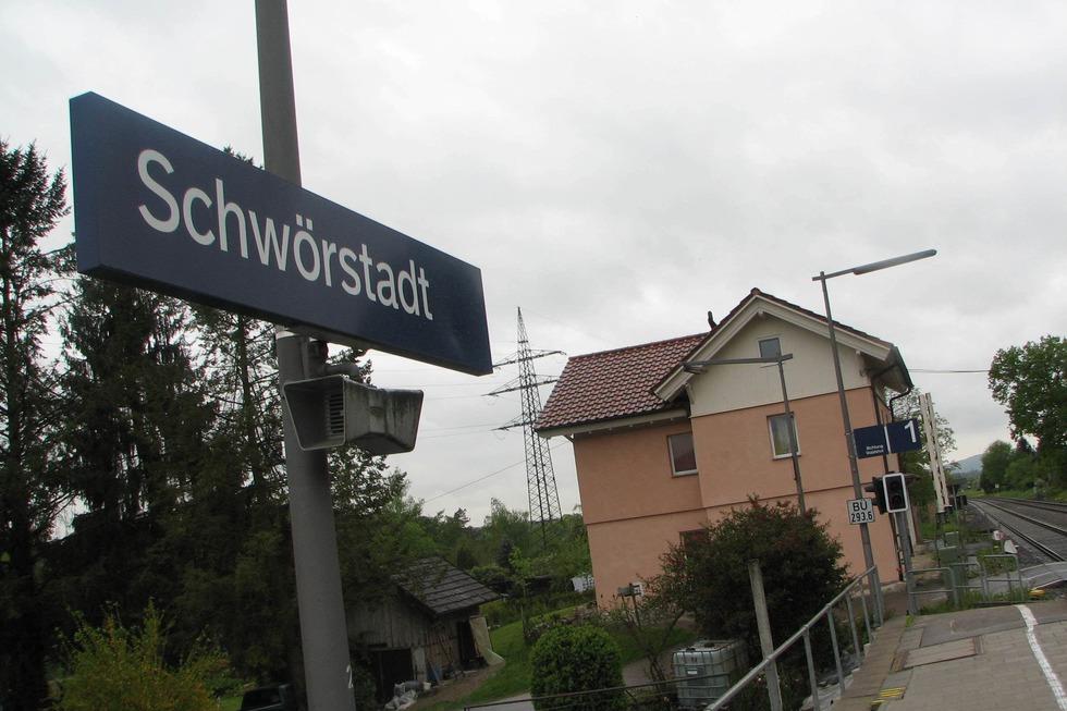 Bahnhof - Schwörstadt