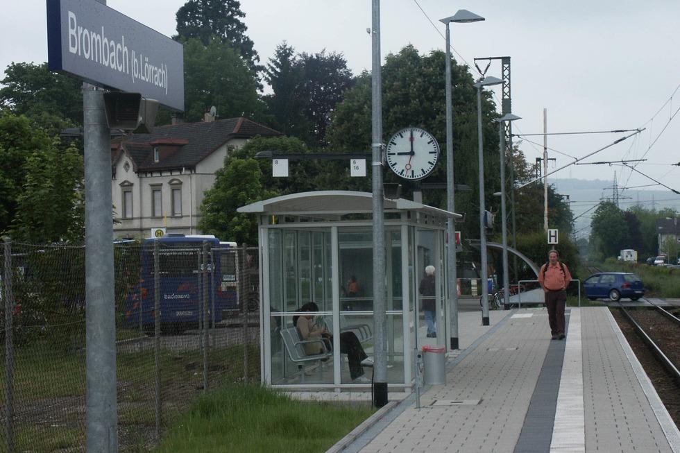 Bahnhof Brombach - Lörrach