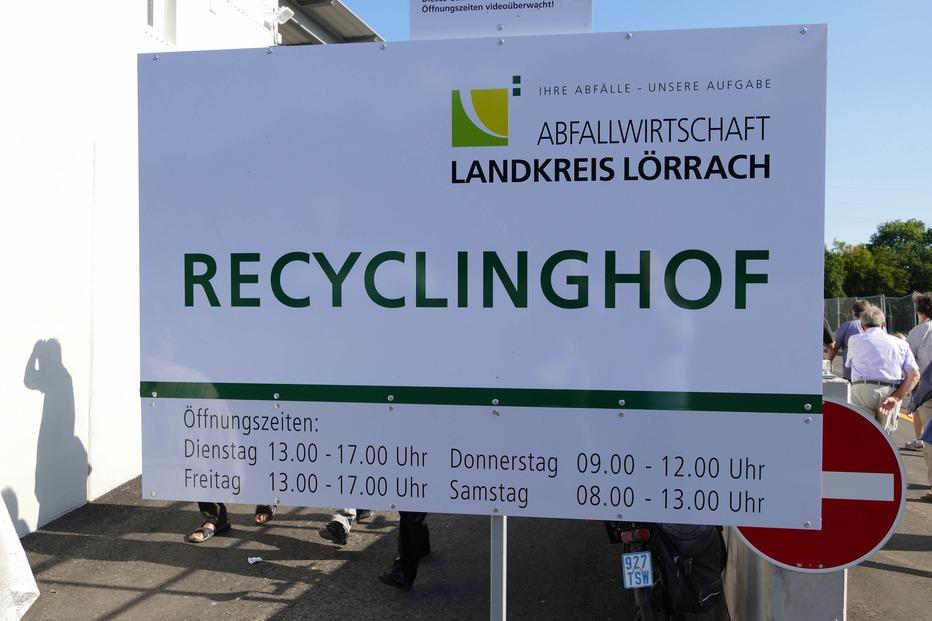 Recyclinghof Herten (an der B 34) - Rheinfelden
