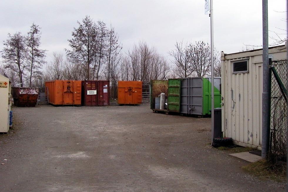 Recyclinghof - Endingen