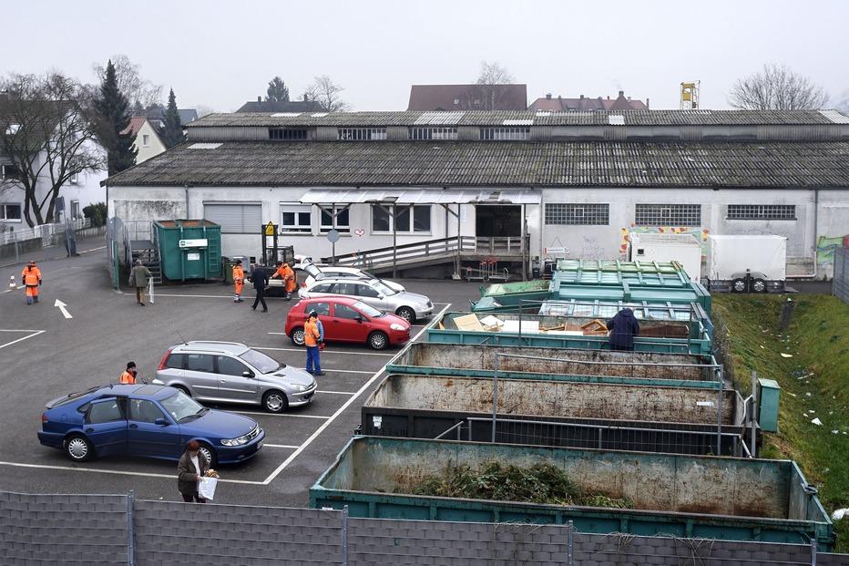 Recyclinghof (Schnaitweg) - Freiburg