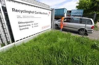 Recyclinghof (Carl-Mez-Straße)