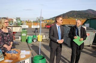 Recyclinghof und Grünschnittplatz (neben Bauhof)