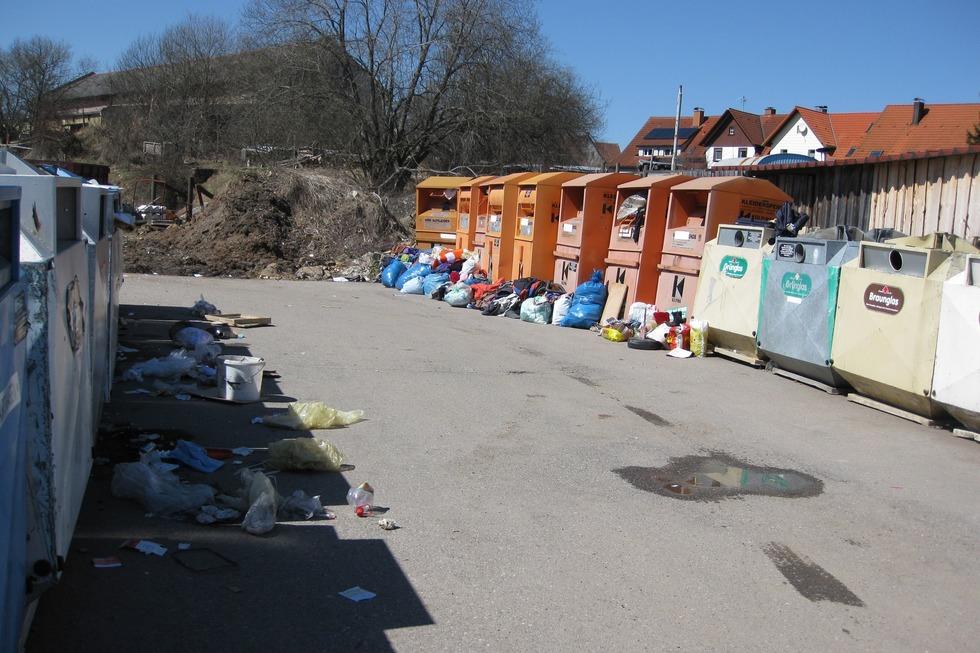 Recyclinghof - Löffingen