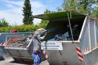 Recyclinghof Werderstraße