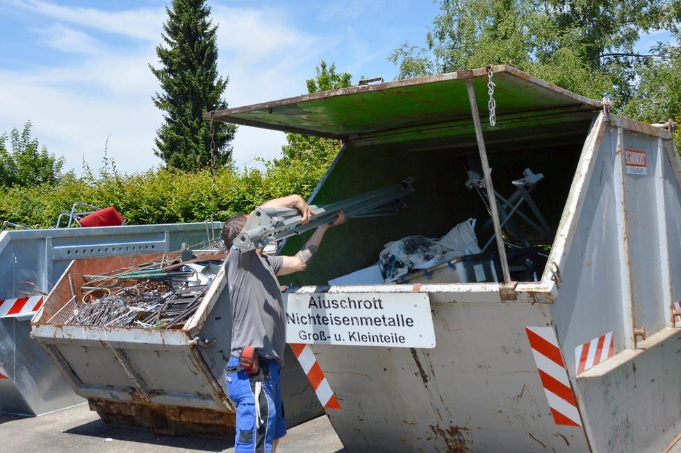 Recyclinghof Werderstraße - Rheinfelden