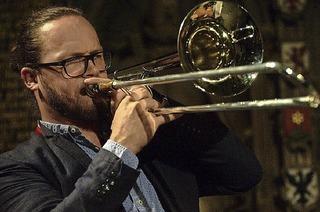 Mit Johannes Mössinger im Quartett