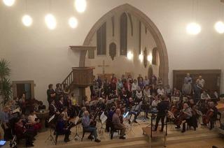 """Oratorium """"Alexanderfest"""" mit dem Gemischten Chor Seltisberg und dem Leimentaler Kammerorchester in Grenzach"""