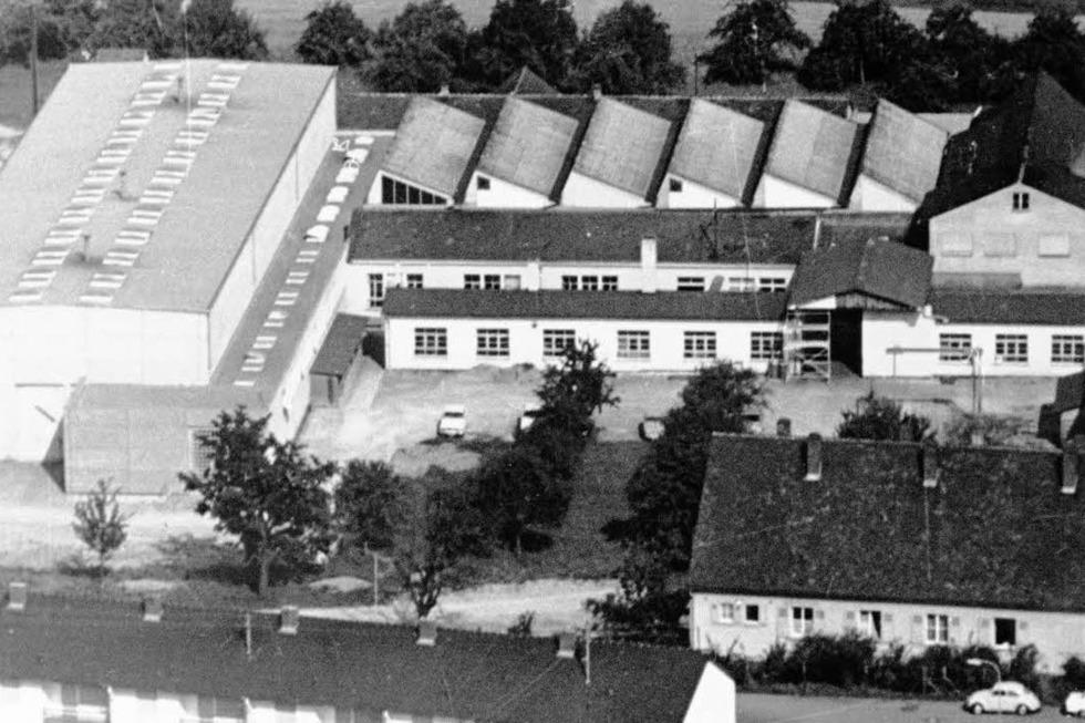 Alte Maschinenfabrik (abgerissen) - Efringen-Kirchen