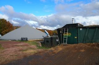 Biogasanlage Glaser Hägelberg