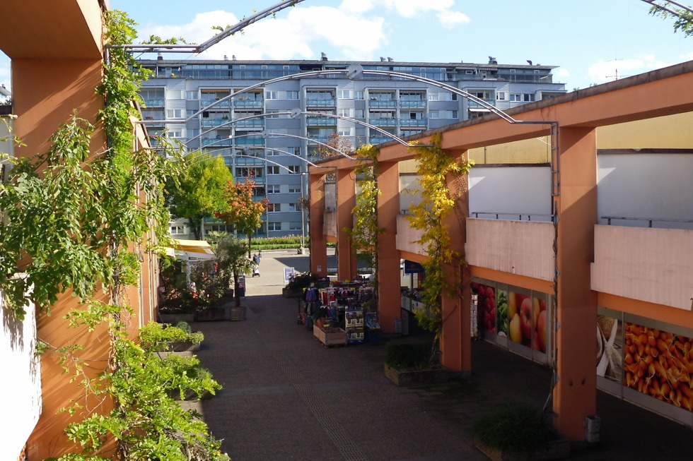 Einkaufszentrum (Landwasser) - Freiburg