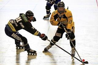 Tag der offenen Tür beim Freiburger Inline-Skatehockey-Team