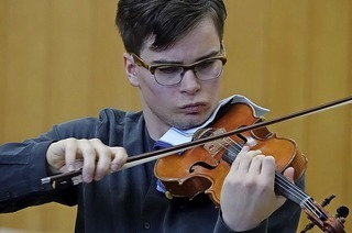 Oberrheinisches Symphonieorchester und Violinist Gregor Hänssler beenden am Sonntag, 25. November, das Klassikjahr der Kulturkooperation Schopfheim-Wehr