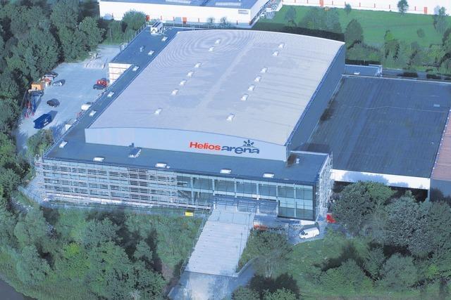 Helios Arena Kunsteisbahn