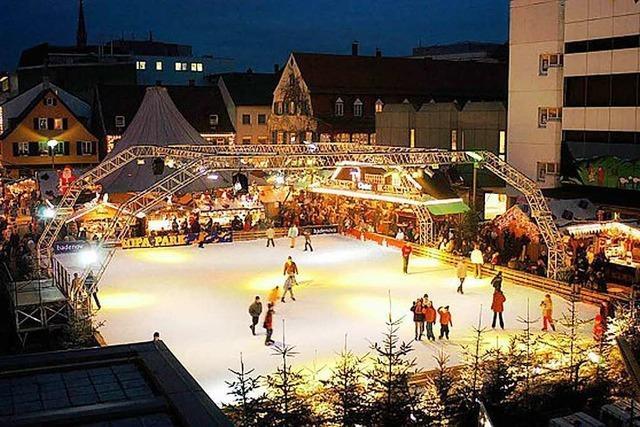 Eisbahn Marktplatz