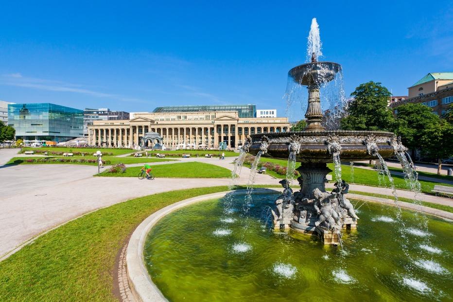 Schloßplatz - Stuttgart