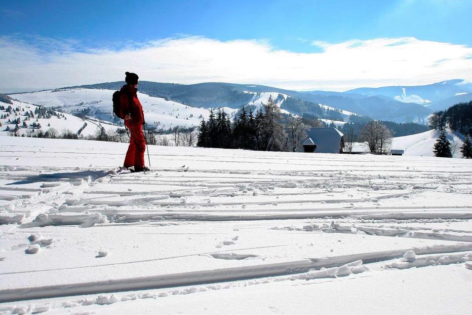 Kaltwasser-Skiabfahrt - Horben