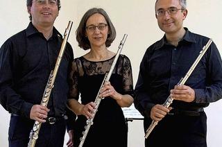 Querflöten-Trio Cirrus in Waldkirch