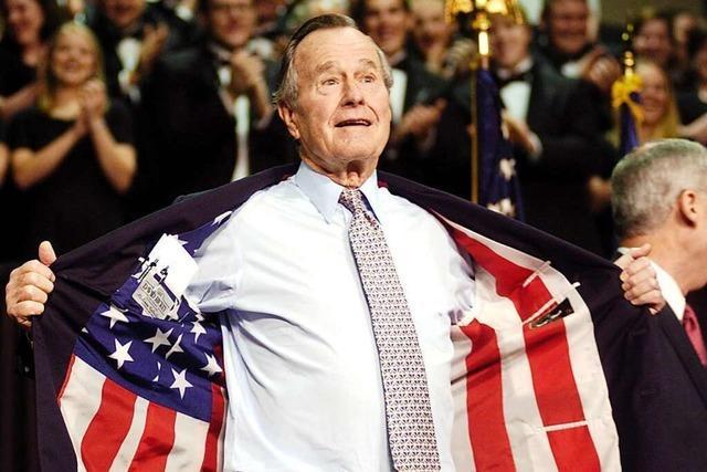 Ein besonnener Realpolitiker: George Bushs Tod markiert das Ende einer Ära