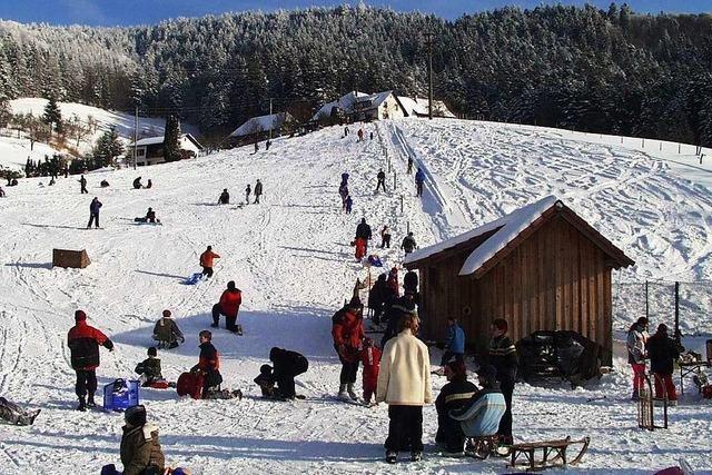 Skilift am Sonnenbuckel (Marzell)