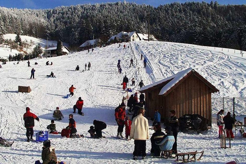 Skilift am Sonnenbuckel (Marzell) - Malsburg-Marzell
