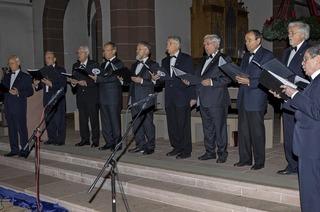 Die Sängerrunde Hochburg tritt in St. Bonifatius auf