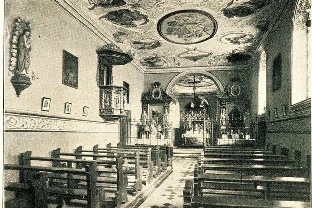 Die St.-Ottilien-Kapelle erinnert an die wundersame Heilung einer Blinden